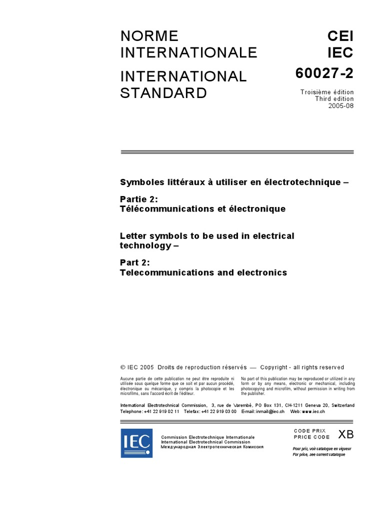 Iec 60027 2 symbols international electrotechnical commission iec 60027 2 symbols international electrotechnical commission waveguide falaconquin