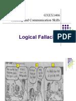 Week 10 Logical Fallacies