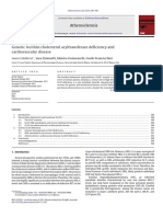 Genetic Lecithin Cholesterol Acyltransferase Deficiency and Cardiovascular Disease 2012 Atherosclerosis