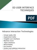 Advance Interaction Technologies