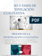 Proceso y Fases de La Investigación Cualitativa