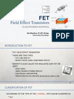 03 FET Field Effect Transistors