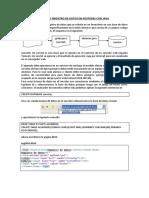 Ejemplo de Registro de Datos Con Java en Postgres