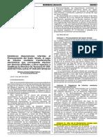 Declaracion Jurada Viaticos Sustentar Nueva RD Mef