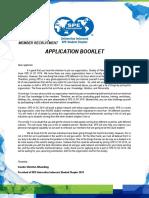 Member Application Meylin Chemical Enginnering 2015