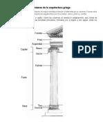 Órdenes de La Arquitectura Griega