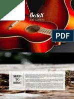 2016 Bedell Guitar Catalog Lr