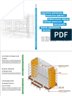 Konsep Struktur dan Mekanikal Kantor Sewa