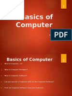 Basic of Computers DS