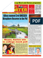 Bikol Reporter March 27 - April 2, 2016 Issue