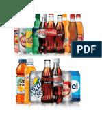 Portafolio de  Productos de Coca Cola