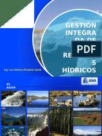 01 Gestion Integrada de Recursos Hidricos en La Cuenca