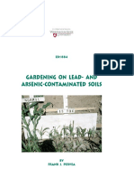 Gardening on Lead and Arsenic Contaminated Soils
