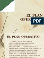 PLAN OPERATIVO