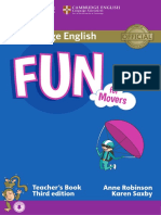 Fun for Movers third edition teacher's book