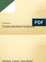 TS-4231 Pengantar Pelabuhan