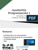 Ayudantía Programación I