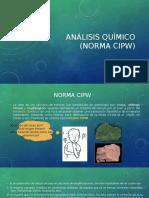 Análisis Químico Cipw - (Freddy Ayala)