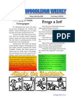 Woodleigh School Newspaper 14th May