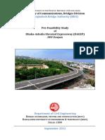 Dhaka Ashulia Pre Feasibility Report