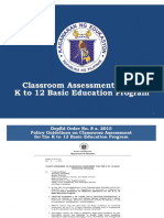 Discussion on DepEd Order No. 8, s. 2015