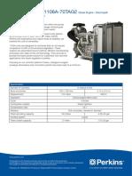 perkins engine data sheet