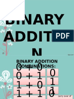 (12)Binary Addition