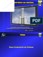 Ministério de Defesa -- Base Industrial