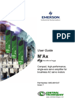 M'Ax User Guide - Issue 7
