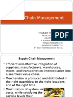 Supply Chain MAnagement- MIS- 29 11 2015