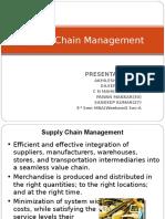 Supply Chain MAnagement- MIS- 29 11 2015