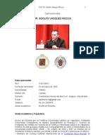 DR. ADOLFO VÁSQUEZ ROCCA_ Curriculum Académico 2010
