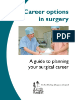 Career Options in Surgery