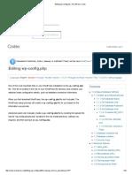 Wordpress Config File Updation