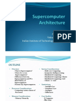 supercomputer architecture