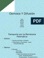 Osmosis Y Difusion