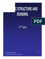 Topik 2-Atomic Structure and Bonding - Ilmu Bahan