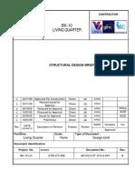 Bk10lq St d10 a 001 Rev.0 Structural Design Brief