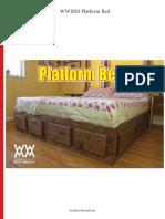 WWMM Platform Bed