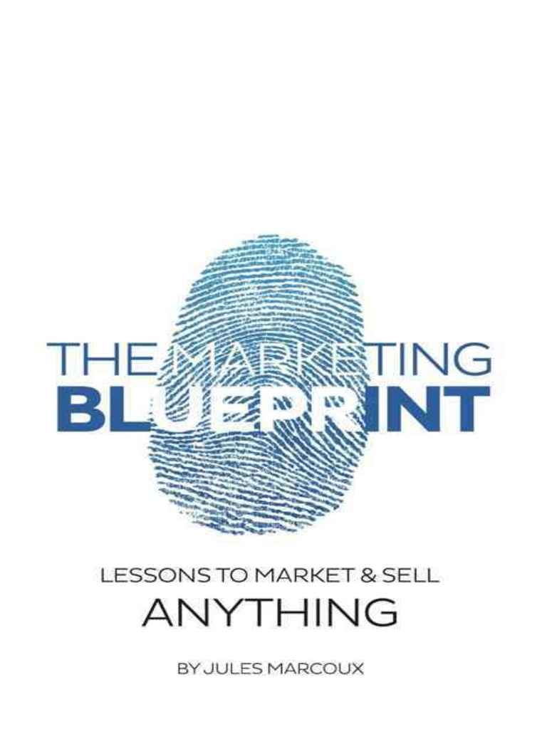The marketing blueprint lesson jules marcoux brand sales malvernweather Choice Image