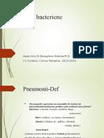 Pneumonii Bacteriene - Varianta Scurta