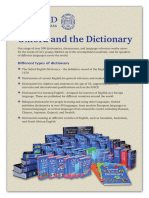 Oxford and the Dictionary