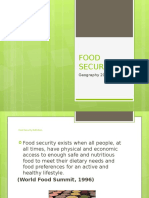 food security powerpoint 2016