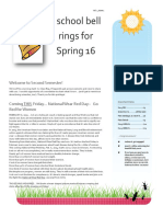 Spring 16 Newsletter Feb 2015