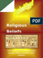 egyptian religious beliefs power point