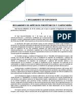 18. 13-11-2015 Modificación Tema 8. Nuevo Reglamento de Artículos Pirotécnicos