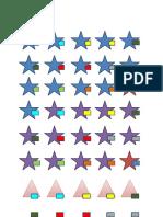 1 Formes i Colors Per Separar Grups