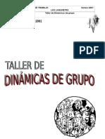 Taller Dinamicas de Grupo