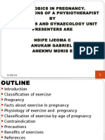 Aerobics in Pregnancy Main Presentation