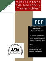 Contrastes en La Teoría Política de Jean Bodin y Thomas Hobbes El Bueno